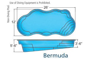 Bermuda Freeform Swimming Pool Design