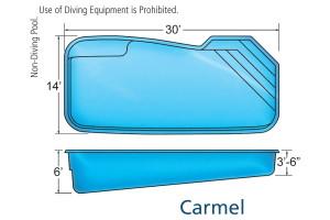Carmel Custom Contemporary Pool Design