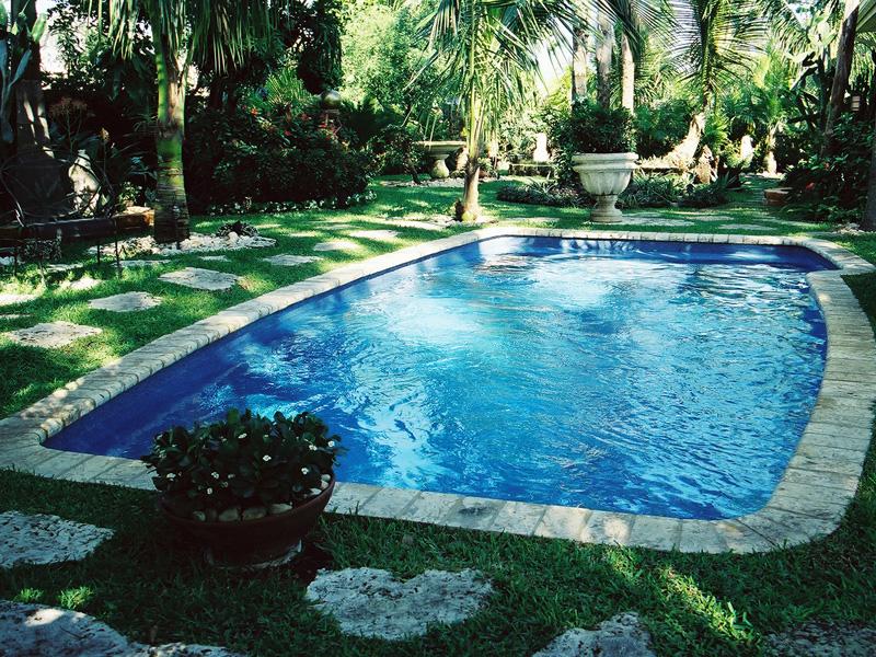 clearwater small fiberglass inground viking swimming pool