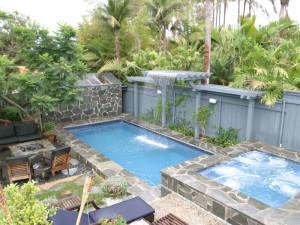 Delray Rectangular Fiberglass Swimming Pool 4