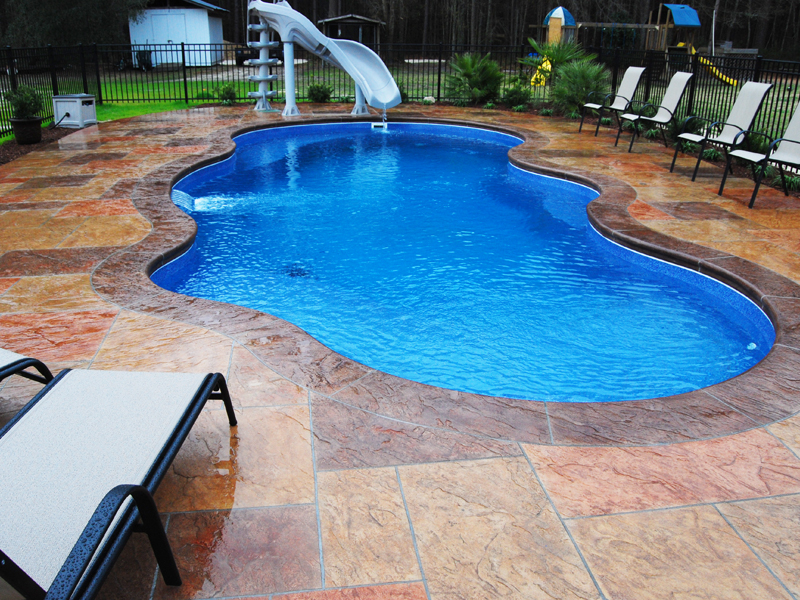 Fiji large fiberglass inground viking swimming pool for Fiberglass inground swimming pools