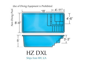 Hydro Zone DXL Swimming Pool Design