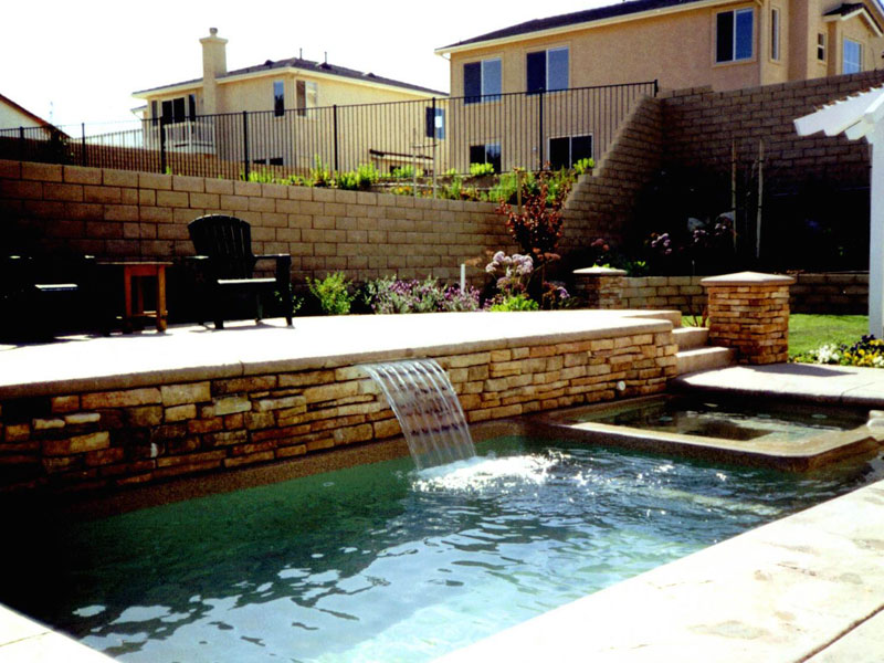 Hydro zone dxl fiberglass inground viking swimming pool for Hydroponic pool