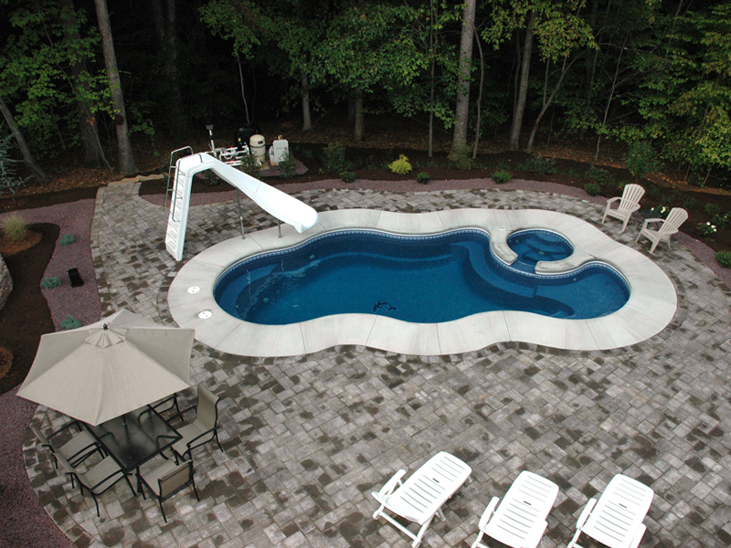 Freeform swimming pools in maryland virginia dc for Pool designs venice