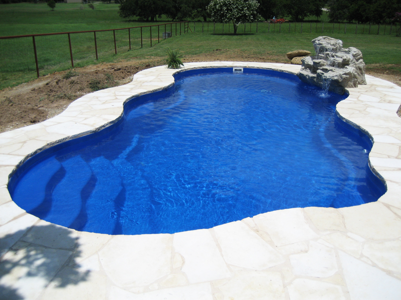 Laguna Freeform Inground Fiberglass Pool 61A