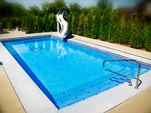 Large Pool Sizes Viking Inground Fiberglass Swimming Pools