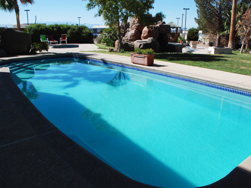 Mediterranean Large Fiberglass Viking Swimming Pool