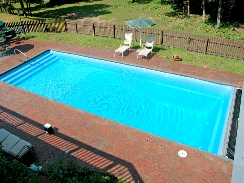 Inground fiberglass pool videos in maryland virginia dc Fiberglass swimming pool installation