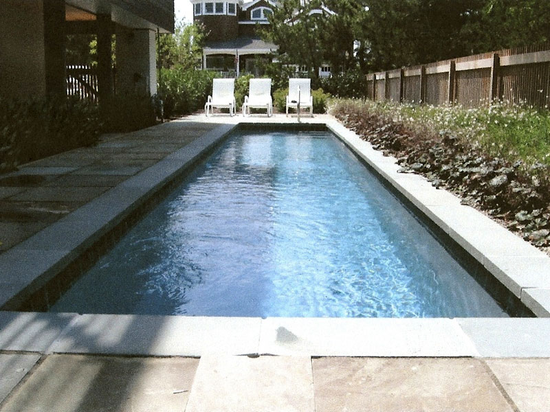 Panama ii small fiberglass inground viking swimming pool for Fiberglass inground swimming pools