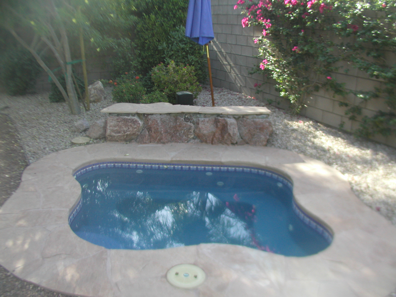 Regal Spillover Spa Amp Hot Tub Viking Fiberglass Pools