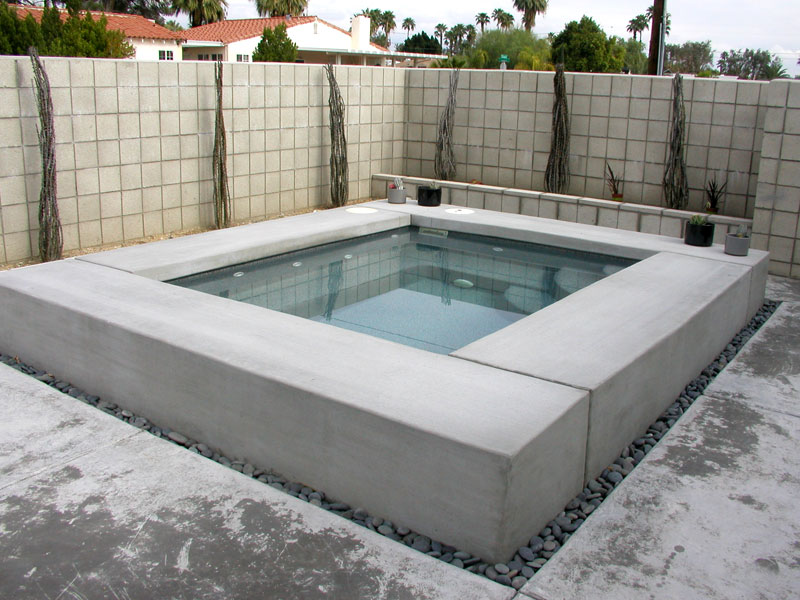 royal viking spa pools 1a - Rectangle Pool With Spa