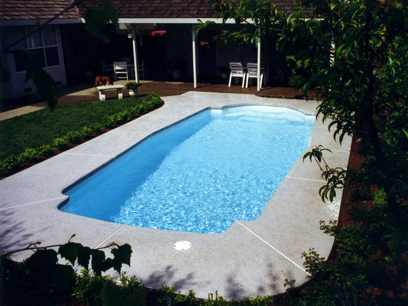 santa barbara medium fiberglass viking swimming pool