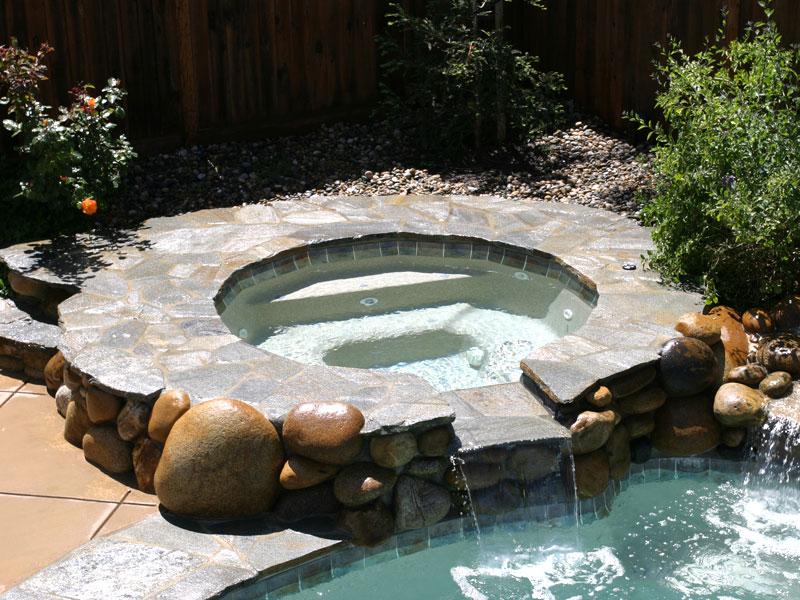 Tahoe Viking Spa Spillover Pools 16o