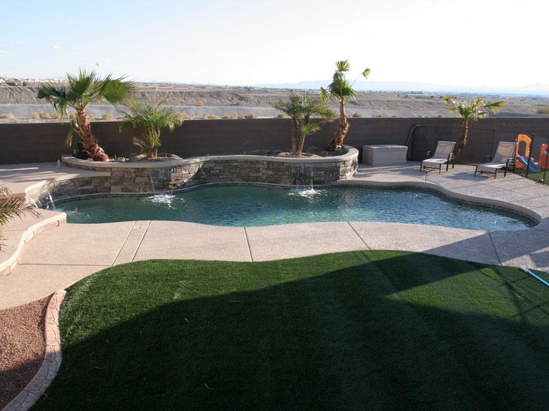 Cancun large fiberglass inground viking swimming pool - Fibreglass swimming pool bond beam ...
