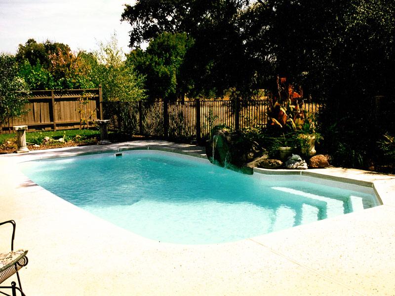 Carmel Medium Fiberglass Inground Viking Swimming Pool