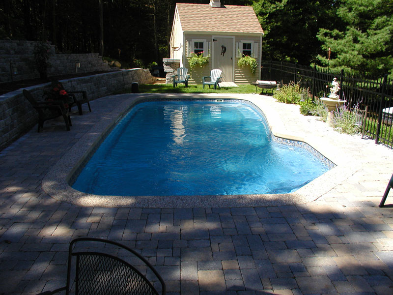 Carmel Medium Fiberglass Inground Viking Swimming Pool