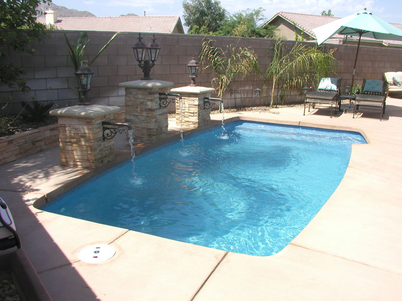 Small Fiberglass Pools Elegant Grand Baron Fiberglass Pool With Small Fiberglass Pools Latest