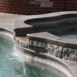 Custom Tile Work Viking Fiberglass Inground Swimming Pools 103
