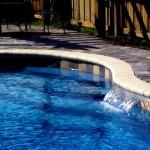 Custom Tile Work Viking Fiberglass Inground Swimming Pools 104