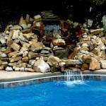 Custom Tile Work Viking Fiberglass Inground Swimming Pools 106