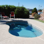 Custom Tile Work Viking Fiberglass Inground Swimming Pools 107