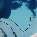 Custom Tile Work Viking Fiberglass Inground Swimming Pools 108