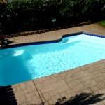 Custom Tile Work Viking Fiberglass Inground Swimming Pools 11