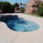 Custom Tile Work Viking Fiberglass Inground Swimming Pools 110