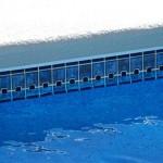 Custom Tile Work Viking Fiberglass Inground Swimming Pools 113