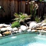 Custom Tile Work Viking Fiberglass Inground Swimming Pools 114