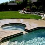 Custom Tile Work Viking Fiberglass Inground Swimming Pools 115