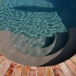 Custom Tile Work Viking Fiberglass Inground Swimming Pools 116