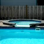 Custom Tile Work Viking Fiberglass Inground Swimming Pools 12