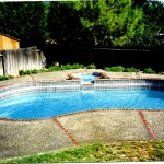 Custom Tile Work Viking Fiberglass Inground Swimming Pools 120