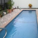 Custom Tile Work Viking Fiberglass Inground Swimming Pools 123