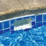 Custom Tile Work Viking Fiberglass Inground Swimming Pools 124
