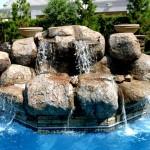 Custom Tile Work Viking Fiberglass Inground Swimming Pools 126