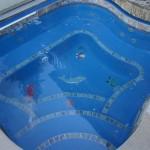 Custom Tile Work Viking Fiberglass Inground Swimming Pools 129