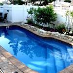 Custom Tile Work Viking Fiberglass Inground Swimming Pools 13