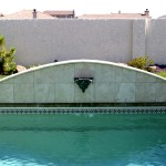 Custom Tile Work Viking Fiberglass Inground Swimming Pools 130