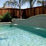 Custom Tile Work Viking Fiberglass Inground Swimming Pools 133