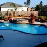 Custom Tile Work Viking Fiberglass Inground Swimming Pools 14