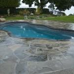 Custom Tile Work Viking Fiberglass Inground Swimming Pools 20