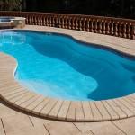 Custom Tile Work Viking Fiberglass Inground Swimming Pools 21