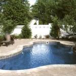 Custom Tile Work Viking Fiberglass Inground Swimming Pools 25