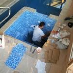 Custom Tile Work Viking Fiberglass Inground Swimming Pools 3