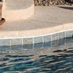 Custom Tile Work Viking Fiberglass Inground Swimming Pools 38