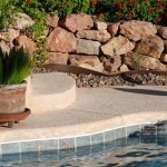 Custom Tile Work Viking Fiberglass Inground Swimming Pools 39