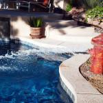 Custom Tile Work Viking Fiberglass Inground Swimming Pools 40