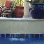 Custom Tile Work Viking Fiberglass Inground Swimming Pools 41